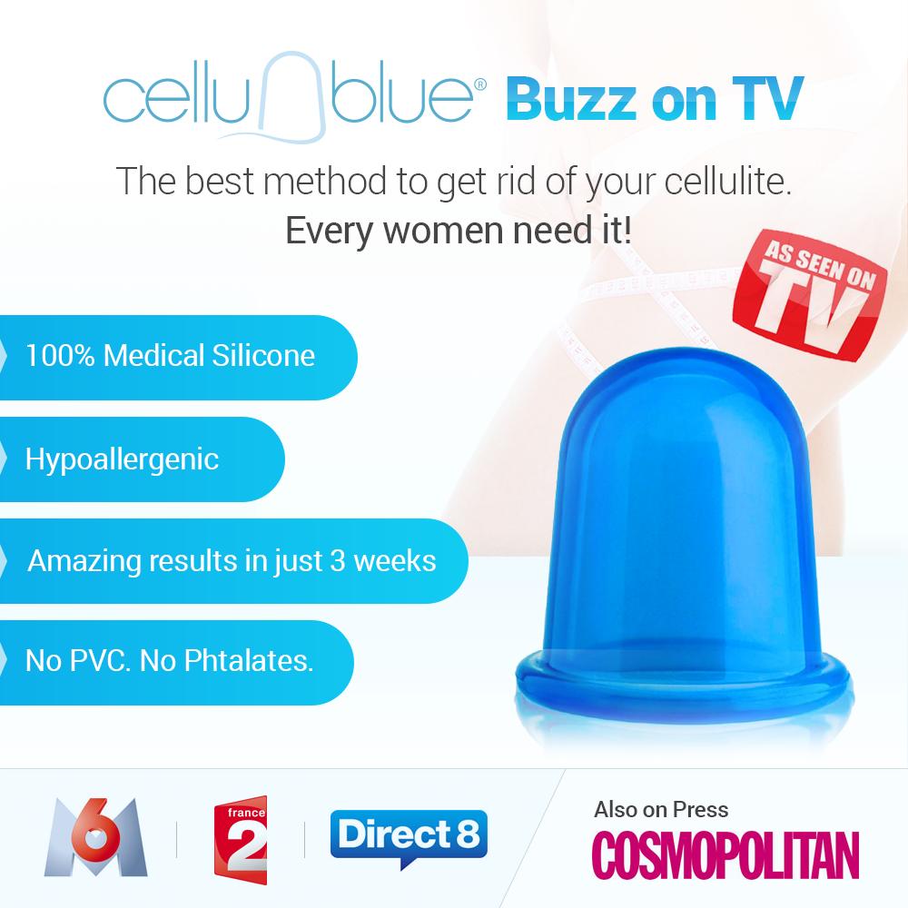 Anti-cellulite CelluBlue Cup® - Ventouses