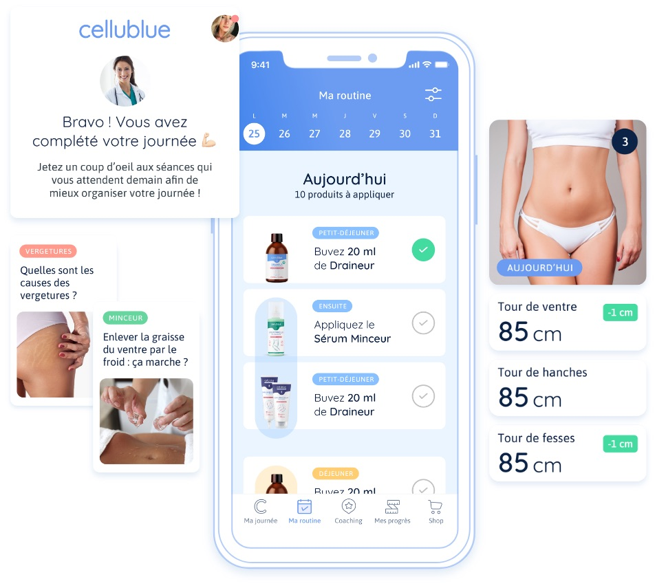 Application mobile Cellublue